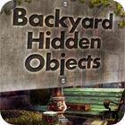 Backyard Hidden Objects игра