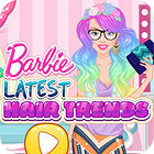 Barbie Latest Hair Trends игра