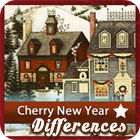 Cherry New Year 5 Differences игра