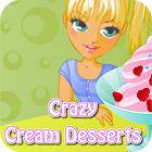Crazy Cream Desserts игра