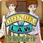 Defenders of Law: The Rosendale File игра