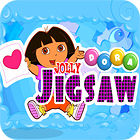 Dora the Explorer: Jolly Jigsaw игра