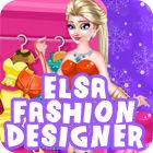 Elsa Fashion Designer игра