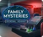 Family Mysteries: Criminal Mindset игра
