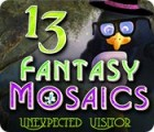 Fantasy Mosaics 13: Unexpected Visitor игра