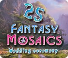 Fantasy Mosaics 25: Wedding Ceremony игра
