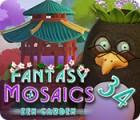Fantasy Mosaics 34: Zen Garden игра