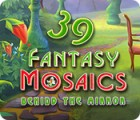 Fantasy Mosaics 39: Behind the Mirror игра