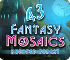 Fantasy Mosaics 43: Haunted Forest игра
