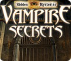 Hidden Mysteries: Vampire Secrets игра