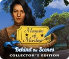 Memoirs of Murder: Behind the Scenes Collector's Edition игра