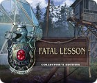 Mystery Trackers: Fatal Lesson Collector's Edition игра