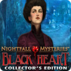 Nightfall Mysteries: Black Heart Collector's Edition игра