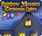 Rainbow Mosaics: Christmas Lights игра