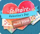 Solitaire Match 2 Cards Valentine's Day игра