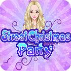 Street Christmas Party игра