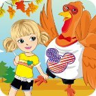 Thanksgiving Turkey Dress-Up игра