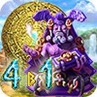 Сокровища Монтесумы. 4 в 1 игра