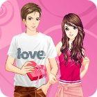 Valentine Dressup игра
