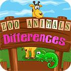 Zoo Animals Differences игра