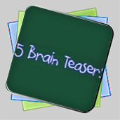 Five Brain Teasers игра