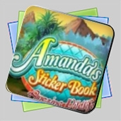 Amanda's Sticker Book: Amazing Wildlife игра