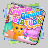 Angela Ginger Birthday Surprise игра