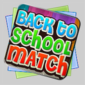 Back To School Match игра
