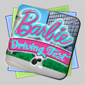 Barbie Driving Test игра