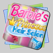 Barbie Princess Hair Salon игра