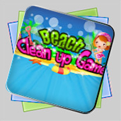 Beach Clean Up Game игра