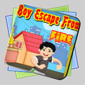Boy Escape From Fire игра