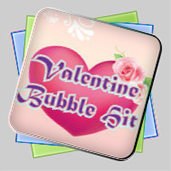 Valentine Bubble Hit игра