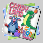 Candy Land - Dora the Explorer Edition игра