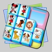 Cartoon Mahjong игра