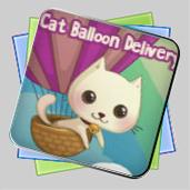 Cat Balloon Delivery игра