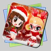 Christmas Dwarf In Fireplace игра