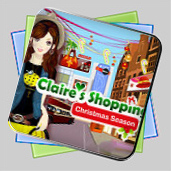 Claire's Christmas Shopping игра