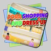 Dora - Shopping And Dress Up игра