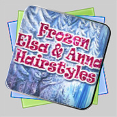 Frozen. Elsa and Anna Hairstyles игра