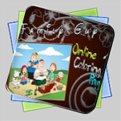 Family Guy Online Coloring игра