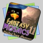 Fantasy Mosaics 11: Fleeing from Dinosaurs игра