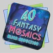 Fantasy Mosaics 40: Alien Abduction игра