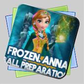 Frozen. Anna Dress Up игра