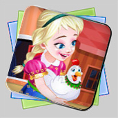 Frozen. Anna Poultry Care игра