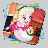 Frozen. Anna Poultry Care игра