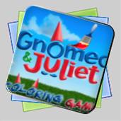 Гномео и Джульетта Раскраска игра