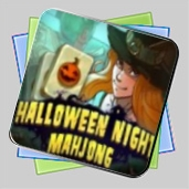 Halloween Night Mahjong игра