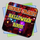 Hidden Objects Halloween Room игра