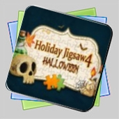 Holiday Jigsaw Halloween 4 игра